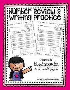 eureka math homework helper kindergarten number writing practice kindergarten eureka math by the cuteified classroom