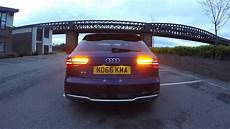 audi s3 faclift rev sound launch exhaust