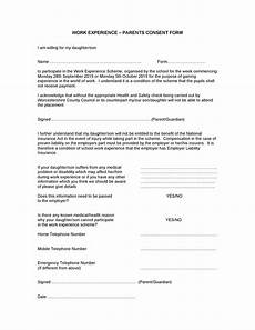 50 printable parental consent form templates ᐅ templatelab