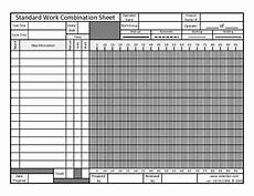 standard work combination sheet free download available velaction continuous improvement llc
