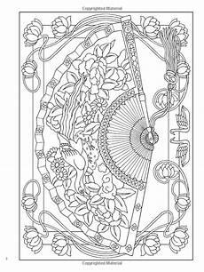 creative haven vintage hand fans coloring book creative haven coloring books marty noble