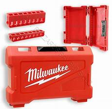 new milwaukee shockwave impact kit only w 2 racks