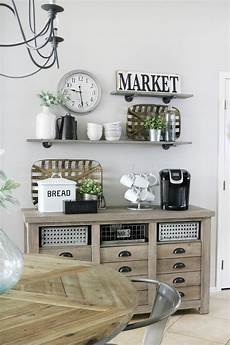 modern farmhouse inspired coffee bar station the crafted sparrow