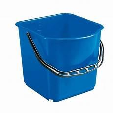 Seau Bleu 15l Accessoires Chariots De M 233 Nage Et Lavage