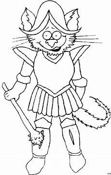 Malvorlagen Katzenkopf Ritter Mit Katzenkopf Ausmalbild Malvorlage Katzen