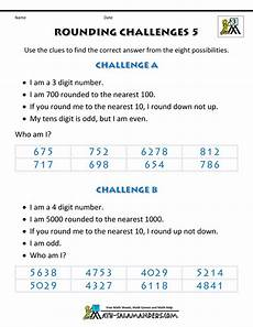 rounding decimals and whole numbers worksheets grade 5 7401 rounding whole numbers challenges 5 gif 1 000 215 1 294 pixels rounding decimals number