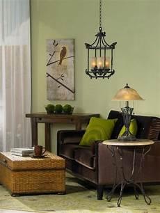 rich brown and light green living room design home decor ideas pinterest green living