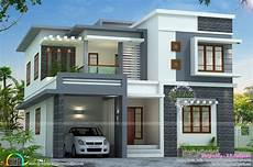 modern house plans in kerala contemporary style home plans kerala beautiful flat home