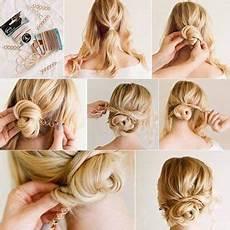 Einfache Frisur Hochzeitsgast Frisuren Geflochtene