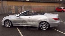 2016 Mercedes E Class Cabriolet Roof Operation