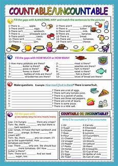 countable and uncontable nouns interactive and downloadable worksheet check your answers online