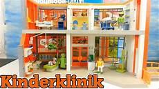 Playmobil Ausmalbild Krankenhaus Playmobil Kinderklinik 6657 Neuheit Auspacken Aufbauen
