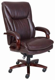 Office Chairs Best Buy by La Z Boy Big Bonded Leather Executive Chair Brown