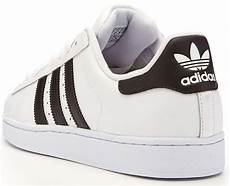 adidas originals superstar 2 ii leather trainers white