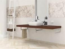 mensole lavabo mensola lavabo in legno massello su misura spessore 5 cm