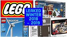 Legotopia Reviews Lego Winter 2018 To 2019 Leaked Sets