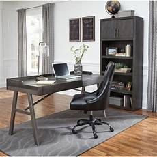 wooden office furniture for the home signature design by ashley raventown contemporary metal