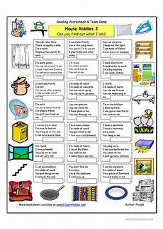 riddle worksheets high school 10914 house riddles 2 medium worksheet free esl printable worksheets made by teachers