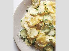 creamy ravioli with squash  lemon and chives_image