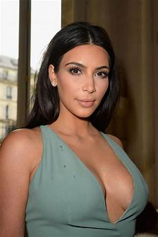 kim kardashian at valentino haute couture fashion show in