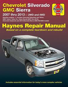 car service manuals pdf 2012 chevrolet suburban 1500 parental controls chevy silverado avalanche suburban tahoe and gmc sierra