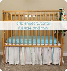 crib sheet tutorial a boo pages sew something special