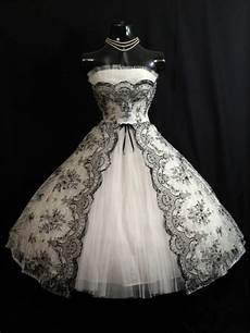 discount vintage 1950s black white short wedding dresses