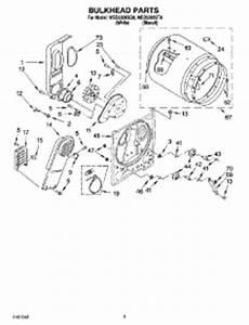 whirlpool dryer won t start wed5300sq0 repair parts repairclinic parts for whirlpool wed5300sq0 dryer appliancepartspros com