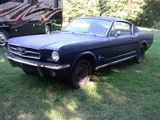 1965 Ford Mustang Fastback Project Car  Old Shopper