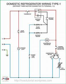 domestic refrigerator wiring hermawan s blog refrigeration and air conditioning systems