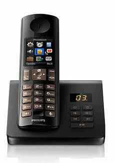 Cordless Phone With Answering Machine D7051b 22 Philips