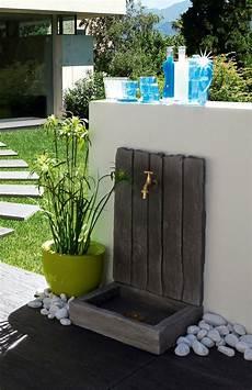 Fontaine De Jardin En Reconstitu 233 E D Aspect Schiste