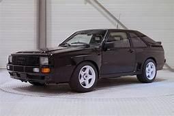 A Pristine Audi Sport Quattro SWB Is Up For Sale