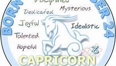 December 24 Zodiac Horoscope Birthday Personality