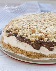 dolci con crema pasticcera senza cottura sbriciolata fredda crema paradiso e nutella senza cottura ricetta ricette dolci