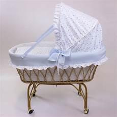 vimini rivestimento culle in vimini con materassino cuscino carrello e telaio