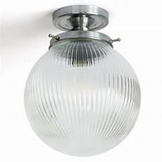 deckenleuchte kugel kugel deckenleuchte mit prismatischem glas 216 20 cm casa lumi