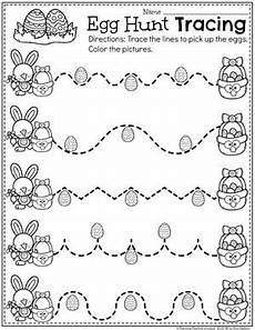 easter worksheets for preschool egg hunt preschool tracing worksheet easter preschool
