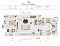 ponderosa house plans floor plan of ponderosa ranch house