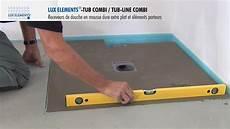 receveur de plat elements montage tub combi receveur de