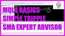 Mql4 Tutorial Basics 72 Simple Tripple Ema