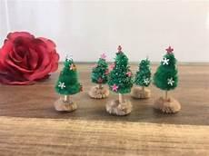 diy mini tannenbaum basteln weihnachtsbaum mit kindern
