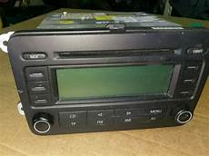vw golf mk5 touran passat caddy radio cd player