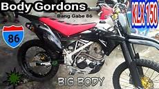 Modifikasi Klx Gordon by Kawasaki Klx 150 Modifikasi Review Bodyset