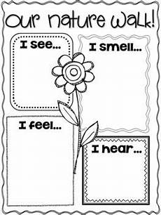 nature observation worksheets 15139 nature walk i saw i heard for younger to complete during walk after walk all cers