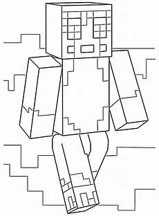 Malvorlagen Minecraft Drucken Minecraft 22 Ausmalbilder Kostenlos