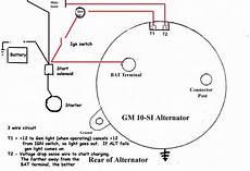 Chevy 3 Wire Alternator Wiring 1 2 Terminal by Fe 35 Alternator Connection Massey Harris Massey
