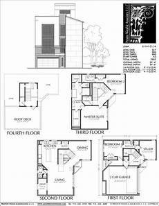condominium house plans 3 1 2 story townhouse plan e1197 c1 1 condo floor plans