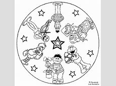 The Magic Factory   Mandala kleurplaten voor kinderen
