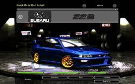 Need For Speed Underground 2 Subaru Impreza WRX STi 22B
